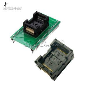 TSOP-48-Chip-Test-Socket-TSOP48-to-DIP-48-SA247-IC-Programmer-Adapter-NAND-Flash