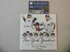 NY Post NY Yankees 2004 Medallion Collection Ruth Mantle JETER + NEXT MEDALLION$
