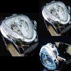 Luxury Pu Triangle Dial Design Automatic Mechanical Men'S Wrist Watch