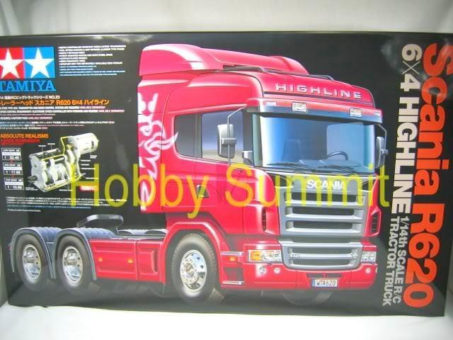 Tamiya  R/C 1/14 SCANIA R620 6x4 HIGHLINE Tractor Truck  Model Kit # 56323