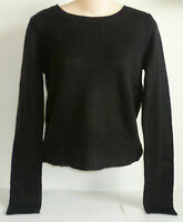 Womens Aeropostale Solid Crew Sweater 9258