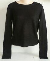 Womens Aeropostale Solid Crew Sweater 9258
