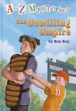 A to Z Mysteries: The Unwilling Umpire (A Stepping Stone Book(TM))-ExLibrary