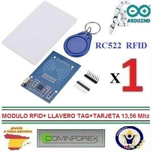 Modulo-RFID-RC522-LLavero-TAG-Tarjeta-13-56-Mhz-Mifare-Arduino-de-ESPANA-I02