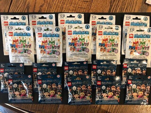 Wholesale Lot-TOTAL of 20 Sealed LEGO  71022 HARRY POTTER & LEGO  41775 UNIKITTY