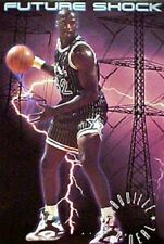 RARE 1992 COSTACOS SHAQUILLE ONEAL FUTURE SHOCK POSTER 23X35 FREE SHIPPING