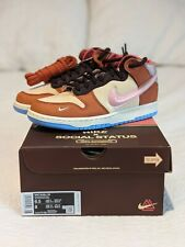 🔥 Nike Dunk Mid - Social Status Free Lunch Chocolate Milk - US Men's Size 6.5🔥