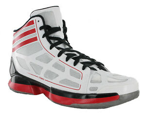 Details zu Adidas Adizero Lgtsca Herren Basketball Schuhe Stiefel UK13 UK15 mit : Sho