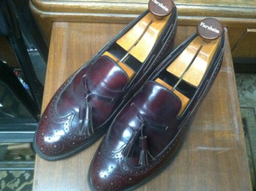 Florsheim Imperial 9.5D loafers with genuine Flors