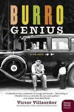 Burro Genius : A Memoir by Victor Villaseñor (2005, Paperback)