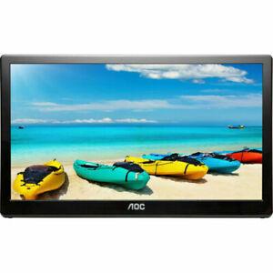 "AOC I1659FWUX 15.6"" FullHD 1920 x 1080 USB 3.0 Powered Portable IPS Monitor"