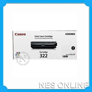 Canon-Genuine-CART322BK-BLACK-Toner-Cartridge-for-LBP9100CDN-6-5K-Page-Yield