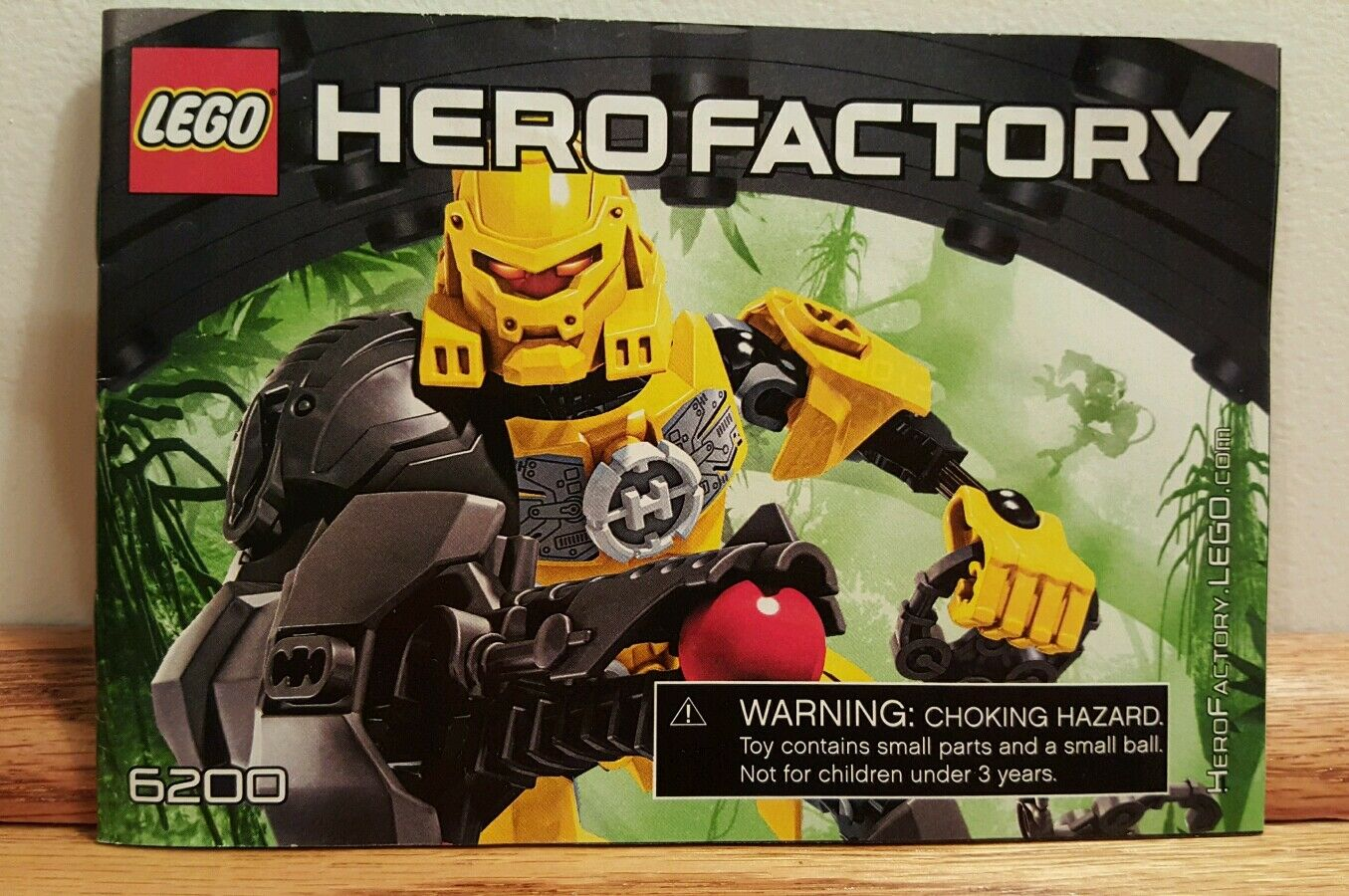 100 Complete Retired Lego Hero Factory Evo 6200 With