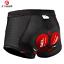 pantalones de ciclismo para hombre shorts ropa interior de bicicleta con gel NEW
