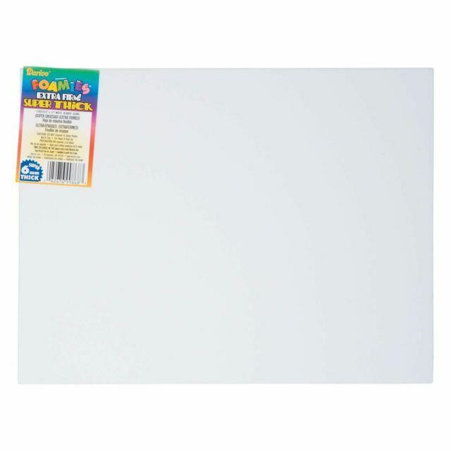 Foam Sheet 9X12 6mm-Red 10 per Pack