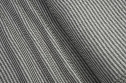 Revers lisse rayé hellgra//gris chiné 0,5 m