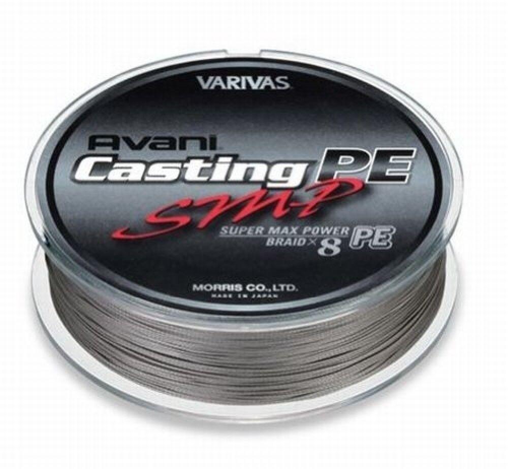 VARIVAS AVANI Casting PE line SMP Super Max  Power Max 90lb 300m 8 BRAIDED  100% free shipping