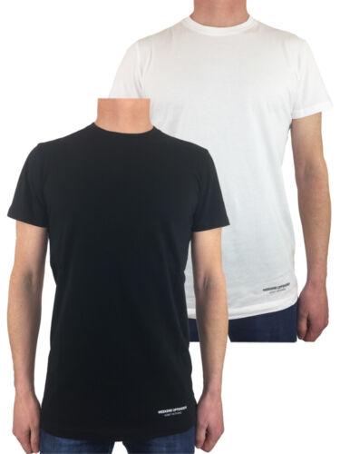 Weekend Offender WOTs 010 PRISON Problème Lot de deux t-shirts en Noir//Blanc
