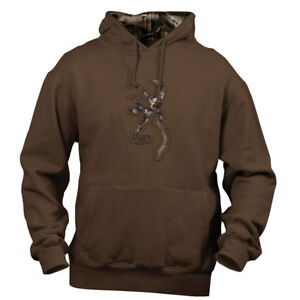 Camo Small Chestnut Ebay Buckmark Only Size Brown Hoodie Sweatshirt dqq0tY