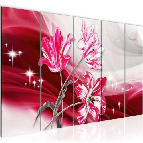 WANDBILDER XXL BILDER Blumen Tulpen VLIES LEINWAND BILD KUNSTDRUCK 209255P