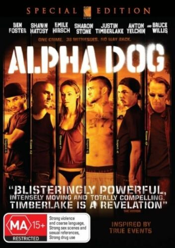 1 of 1 - Alpha Dog (DVD, 2007)*R4*VGC*Justin Timberlake*