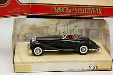 Matchbox 1/43 - Mercedes 540 K Noire