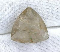 One 18mm Trillion Trilliant Golden Rutilated Quartz Gemstone Gem Stone B19a55