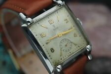 Vintage TUDOR Small Rose 17 Jewel Hand Wind Stainless Steel Fancy Case Watch