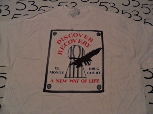 XL NWOT Discover Recovery El Monte California T Shirt