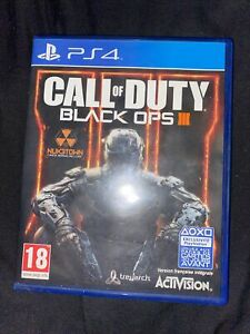 JEU PS4 CALL OF DUTY BLACK OPS III ACTIVISION OCCASION PLAYSTATION 4