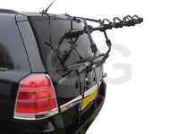 Car 3 Bike Cycle Carrier Rack Rear Door Boot Mounted Vauxhall Zafira 1998-2014