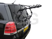 Car 3 Bike Cycle Carrier Rack Rear Door Boot Mounted Vauxhall Zafira 1998-2014