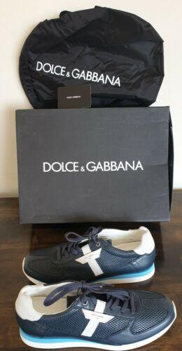 Dolce Gabbana zapatos caballero, d&g sneakers, shoes, 10, UE 44 nuevo con cartón, bolso