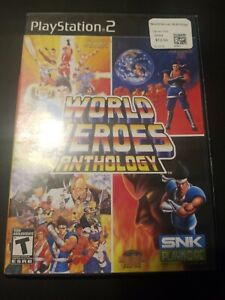World Heroes Anthology (Sony PlayStation 2, PS2 2008) CIB