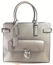 ccd902435fda Michael Kors Emma Large Saffiano Leather Tote 30h6sent3l Dark Dune ...