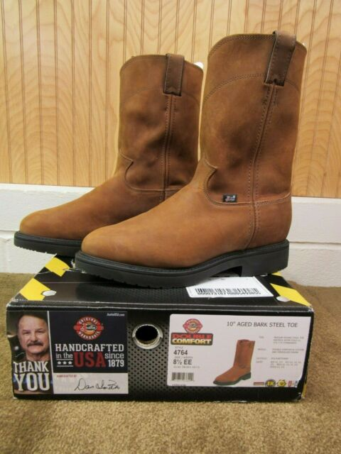 Justin Double Comfort Steel Toe Work Boot