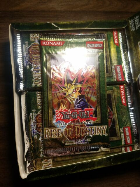 Yu Gi Oh 1st Edition Rise Of Destiny Booster Pack Hobby Lobby Box Factory Sealed