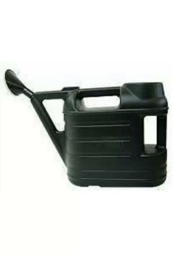 6.5 Litre Ward Green Plastic Garden Watering Can With Rose Water Sprinkler 6.5L