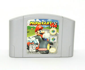 Mario-Kart-64-Nintendo-64-N64-Authentic-Cart-Only-Cleaned-amp-Tested-Great-Shape
