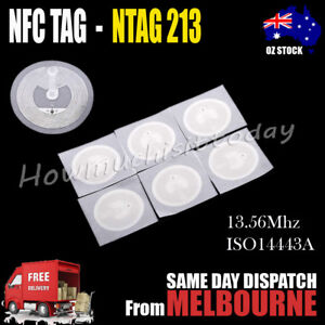 Details about NFC TAG Sticker NTAG 213 Universal Label RFID Tag for all  Android NFC phones