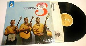 1st-SELF-TITLED-DEBUT-1962-S-T-by-The-Travelers-3-LP-FOLK-IN-SHRINK
