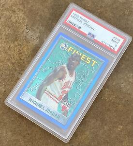 1995 Finest #229 Michael Jordan PSA 9 Bulls