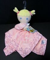 Garanimals My Best Friend Brown Haired Doll Baby Security Blanket Wal-mart Dots Toys
