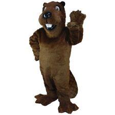 Barney Beaver Professional Quality Mascot Costume