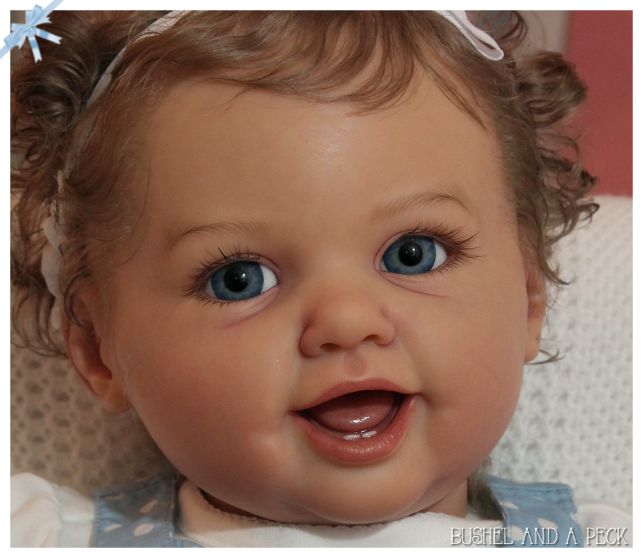 Marioro Bambino in bianco le parti in vinile per creare un rinato BABY-non completato