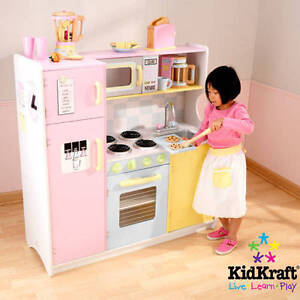 Beau Image Is Loading KidKraft Large Pastel Wooden Play Kitchen With 3