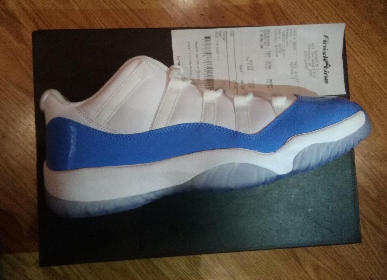 Nike Nike Nike Air Jordan Retro 11 low blanco / Universidad azul comodo baratos zapatos de mujer zapatos de mujer fcc76a