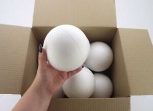 Box-of-8-Polystyrene-Ball-120mm-sweet-tree-Christmas-giant-bauble-craft