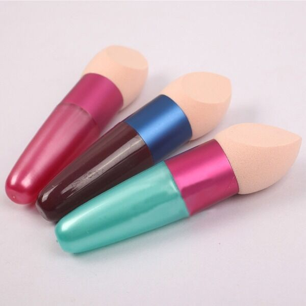 Women Cosmetic Brushes Liquid Cream Foundation Concealer Sponge Lollipop Brush
