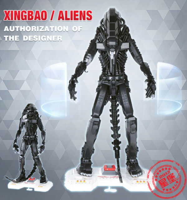 Xingbao 04001 Alien 2020 piece compatible blocks model